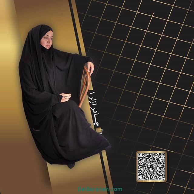 مدل چادر مشکی (۱۰)