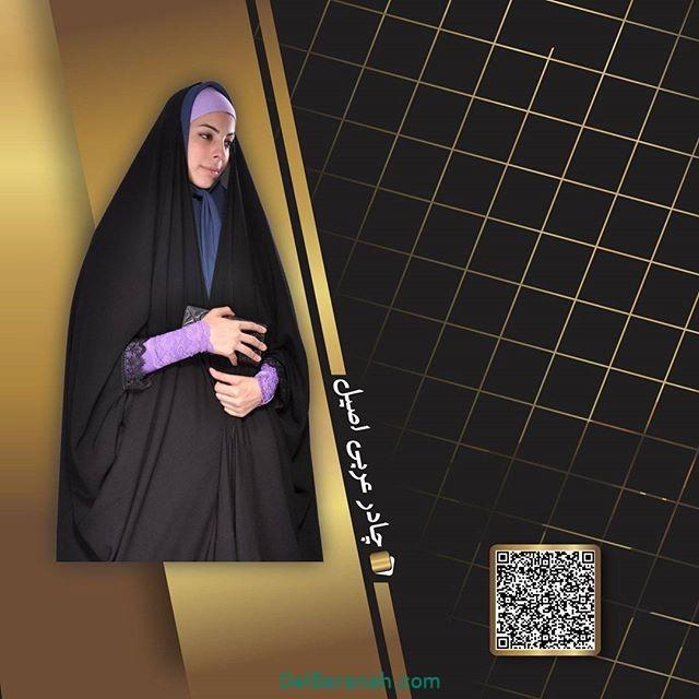 مدل چادر مشکی (۴)