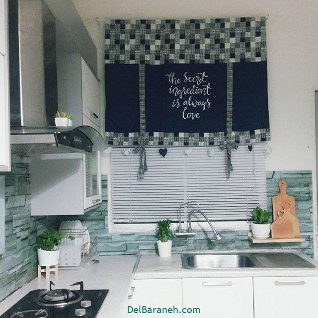 پرده آشپزخانه (۷)