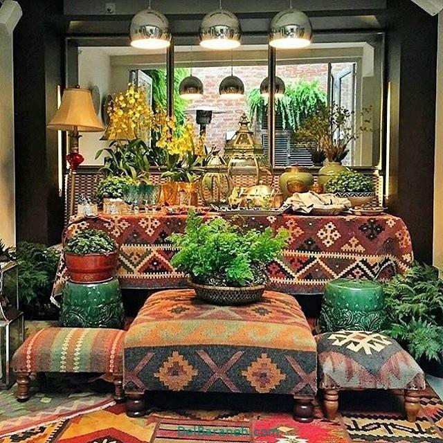 چیدمان سنتی خانه چیدمان سنتی و مدرن (۱۰)