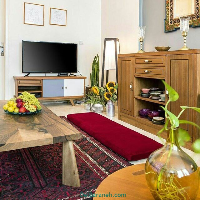 چیدمان سنتی خانه چیدمان سنتی و مدرن (۸)