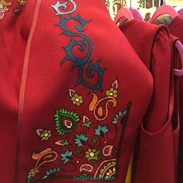 پته دوزی روی مانتو آموزش پته دوزی | ۲۵ طرح پته دوزی زیبا برای مانتو و لباس ...