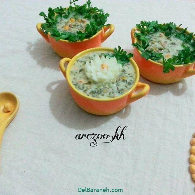 انواع سوپ تزیین سوپ (۱۰)