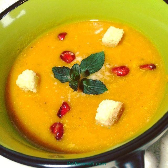 انواع سوپ تزیین سوپ (۲۳)