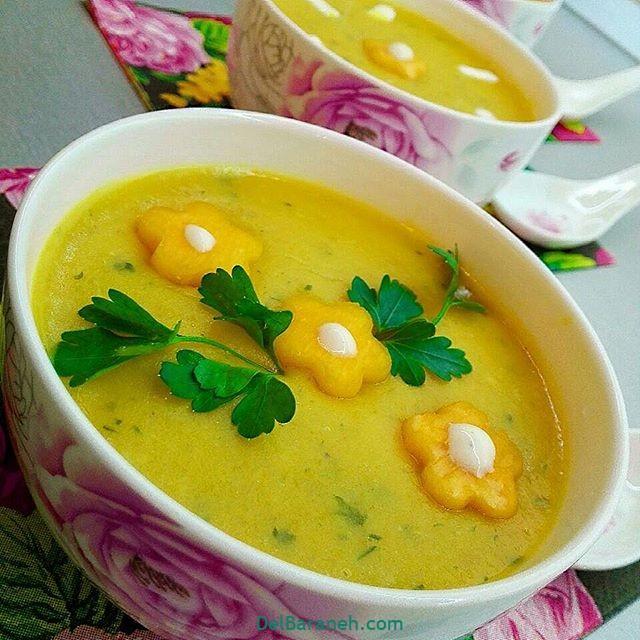 انواع سوپ تزیین سوپ (۳۷)