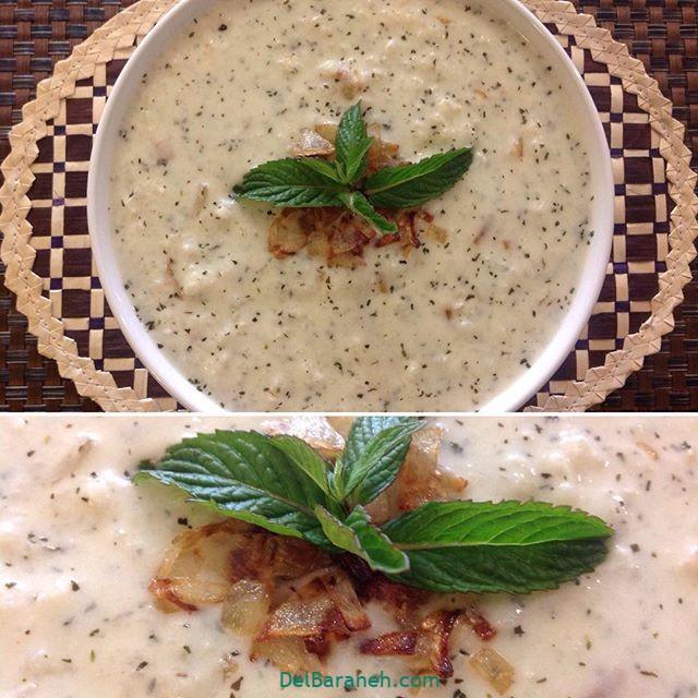 انواع سوپ تزیین سوپ (۴)