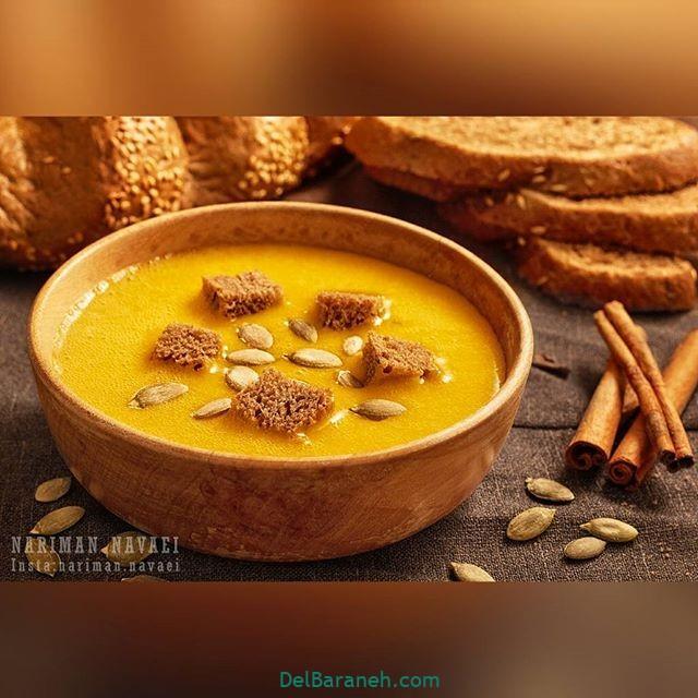 انواع سوپ تزیین سوپ (۴۲)