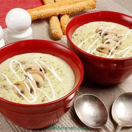 انواع سوپ تزیین سوپ (۴۸)