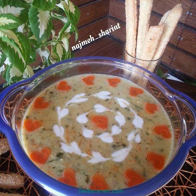 انواع سوپ تزیین سوپ (۴۹)