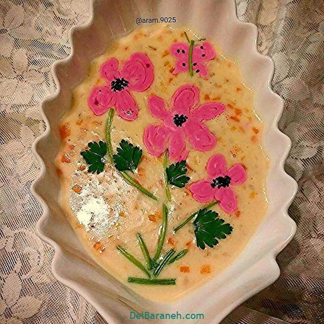 انواع سوپ تزیین سوپ (۵۳)