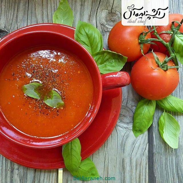 انواع سوپ تزیین سوپ (۶۲)