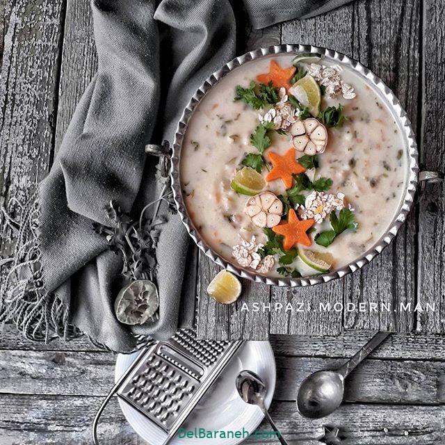 انواع سوپ تزیین سوپ (۶۵)