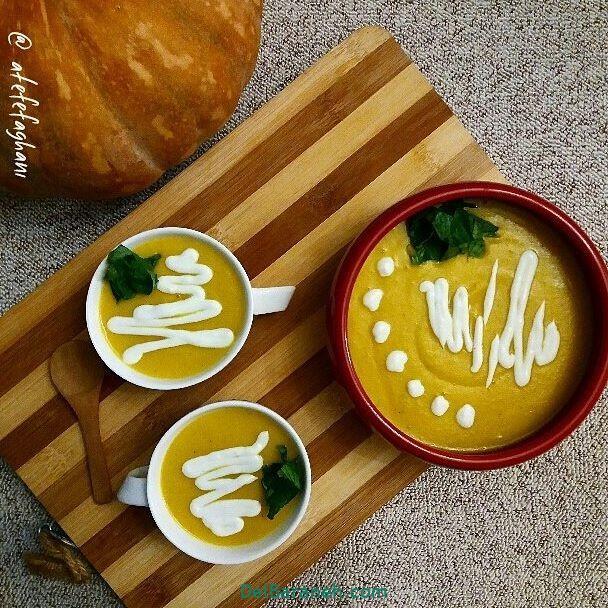 انواع سوپ تزیین سوپ (۶۶)