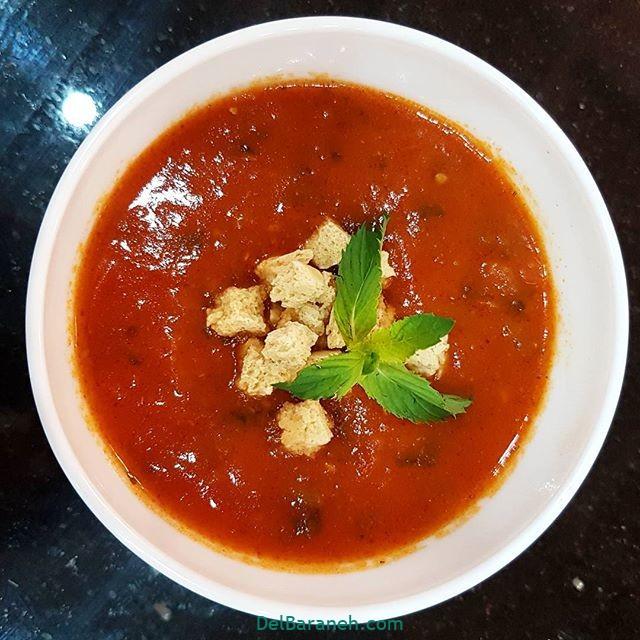انواع سوپ تزیین سوپ (۶۷)