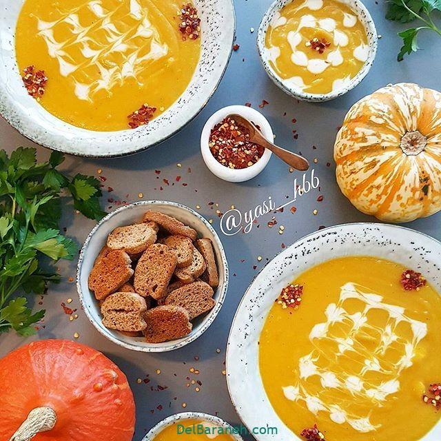 انواع سوپ تزیین سوپ (۷۲)