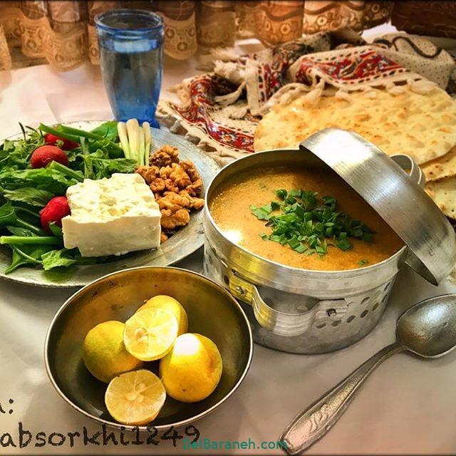 انواع سوپ تزیین سوپ (۷۷)