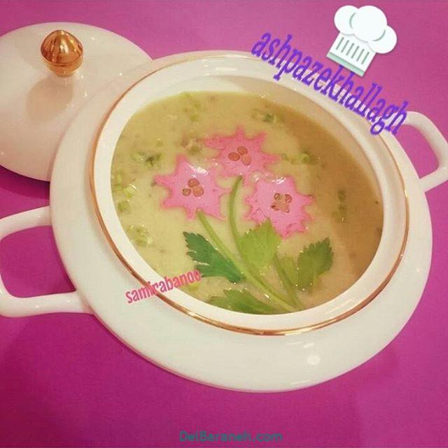 انواع سوپ تزیین سوپ (۸)