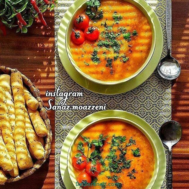 انواع سوپ تزیین سوپ (۸۱)