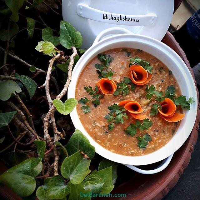 انواع سوپ تزیین سوپ (۸۲)