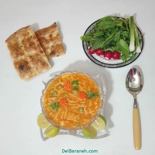 انواع سوپ تزیین سوپ (۸۶)