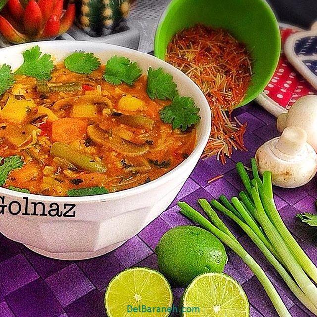 انواع سوپ تزیین سوپ (۸۷)