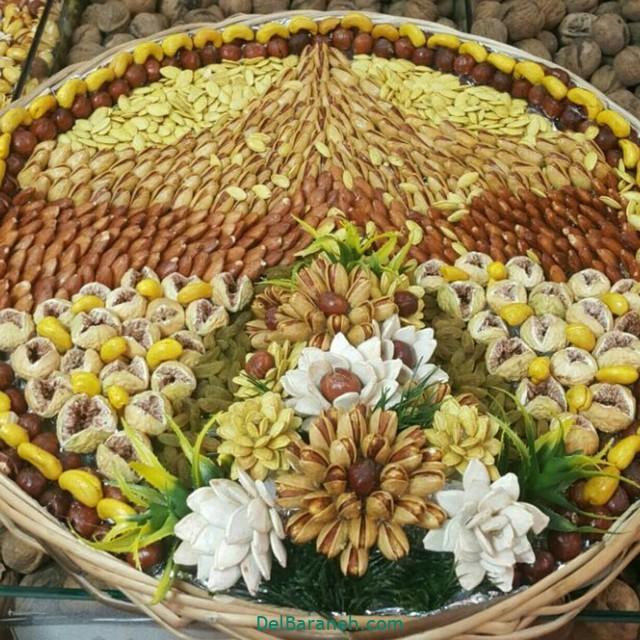 تزیین آجیل عروس (۲)