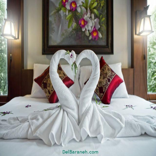 تزیین اتاق خواب عروس (۱۰)