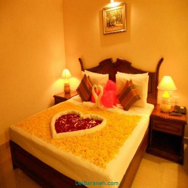تزیین اتاق خواب عروس (۱۵)