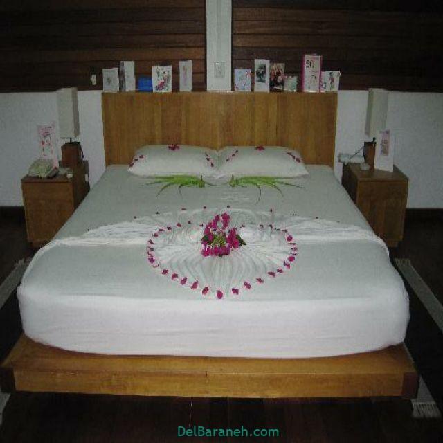 تزیین اتاق خواب عروس (۲۰)
