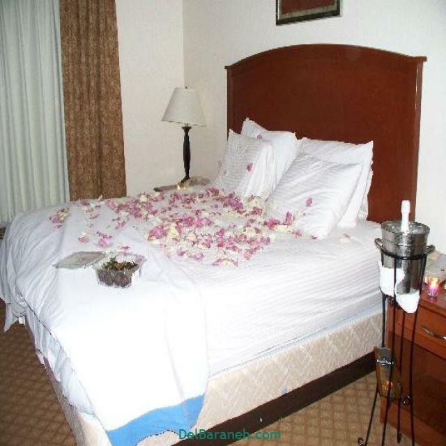 تزیین اتاق خواب عروس (۲۱)