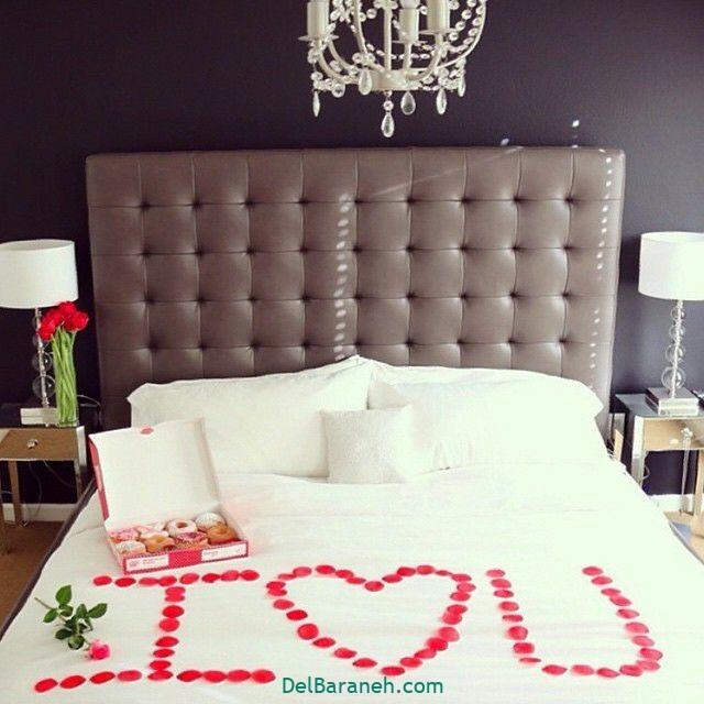 تزیین اتاق خواب عروس (۲۲)