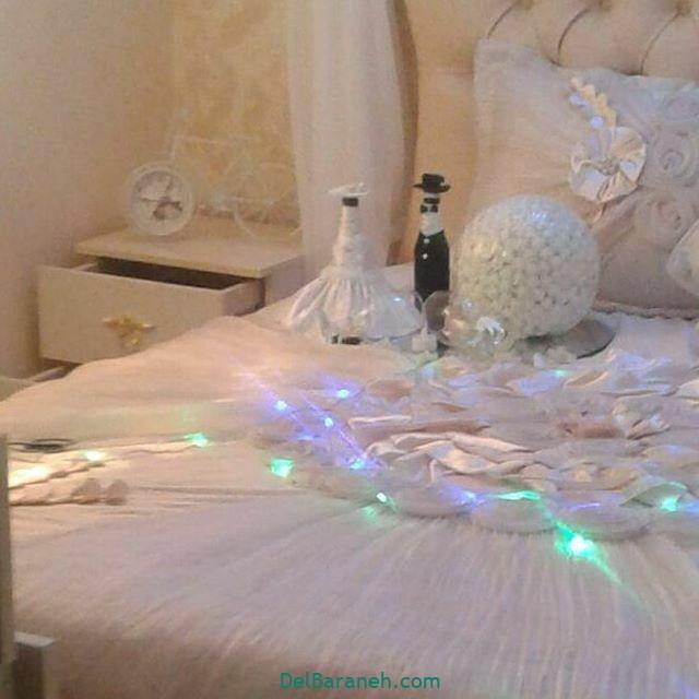 تزیین اتاق خواب عروس (۲۴)