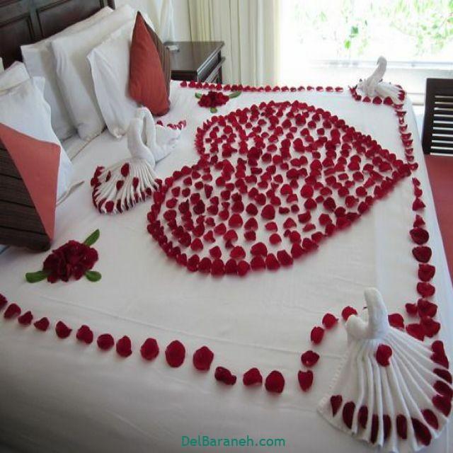 تزیین اتاق خواب عروس (۶)