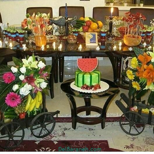 تزیین شب یلدا عروس (۱۸)