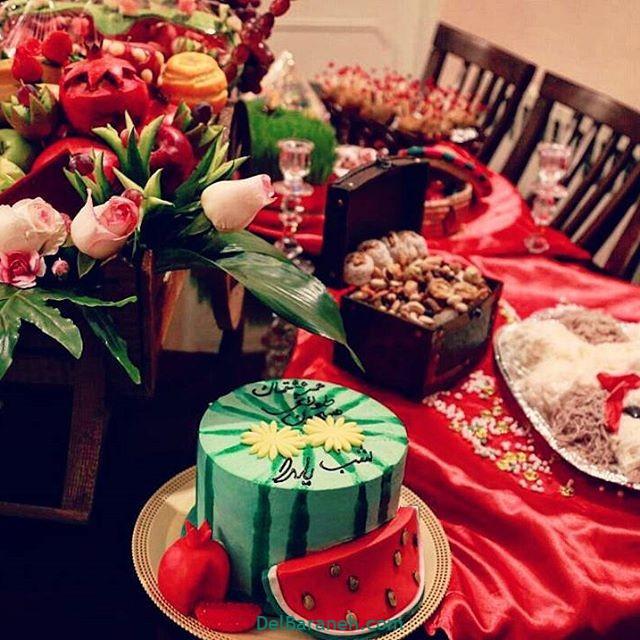 تزیین شب یلدا عروس (۲)