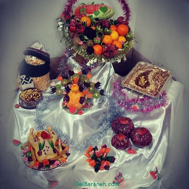 تزیین شب یلدا عروس (۲۰)