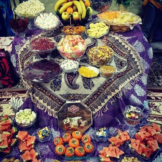 تزیین شب یلدا عروس (۲۱)