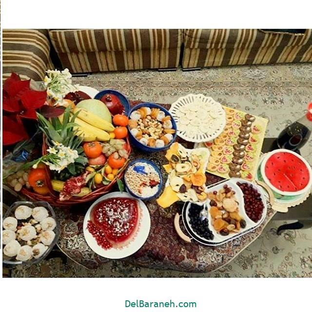 تزیین شب یلدا عروس (۲۵)