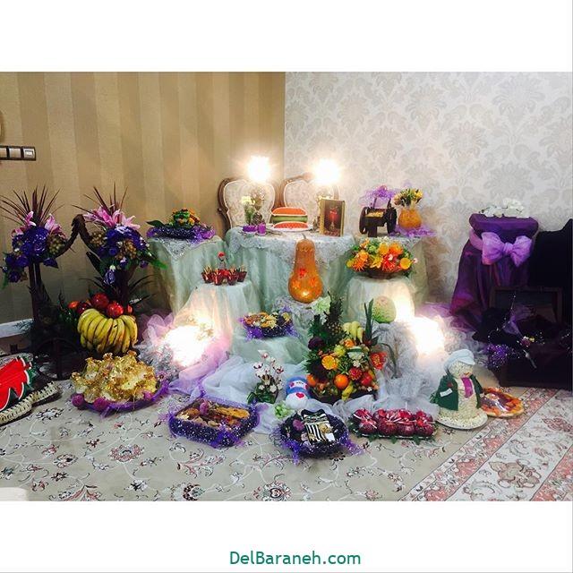 تزیین شب یلدا عروس (۲۶)