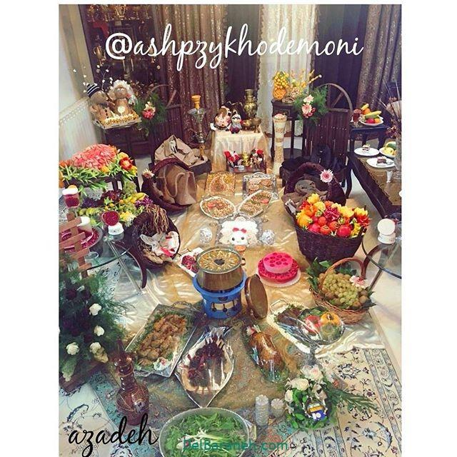 تزیین شب یلدا عروس (۲۹)