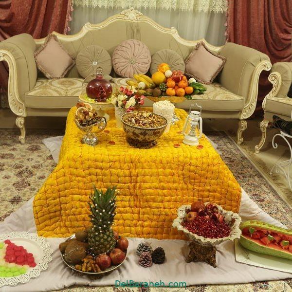 تزیین شب یلدا عروس (۳)