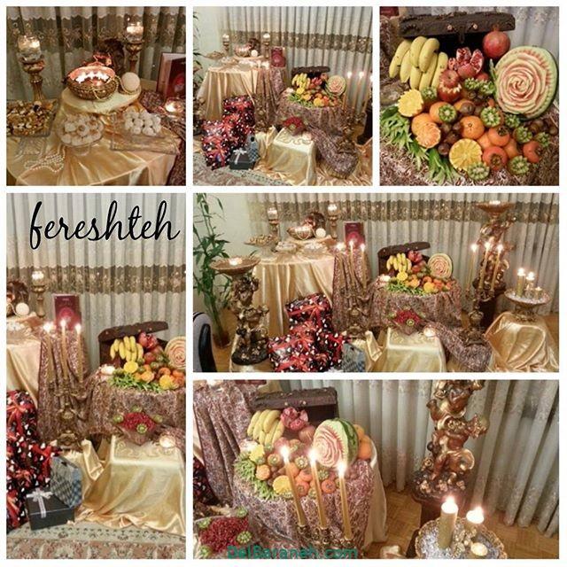 تزیین شب یلدا عروس (۳۲)