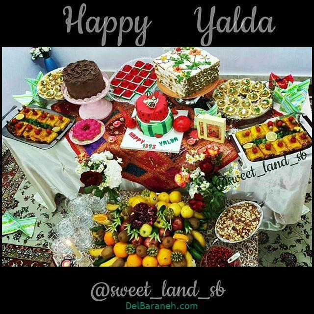 تزیین شب یلدا عروس (۹)