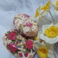 تزیین صابون عروس | ۲۰ مدل تزیین صابون با تور و روبان و گل برای عروس