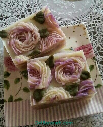 تزیین صابون عروس (۱۲)
