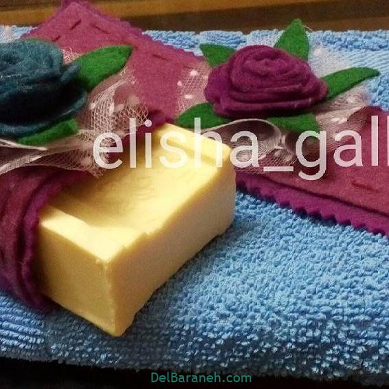 تزیین صابون عروس (۱۴)