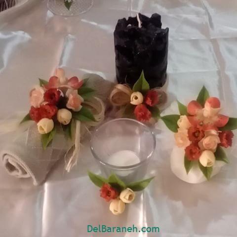تزیین صابون عروس (۱۷)