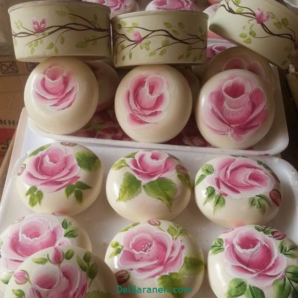 تزیین صابون عروس (۴)