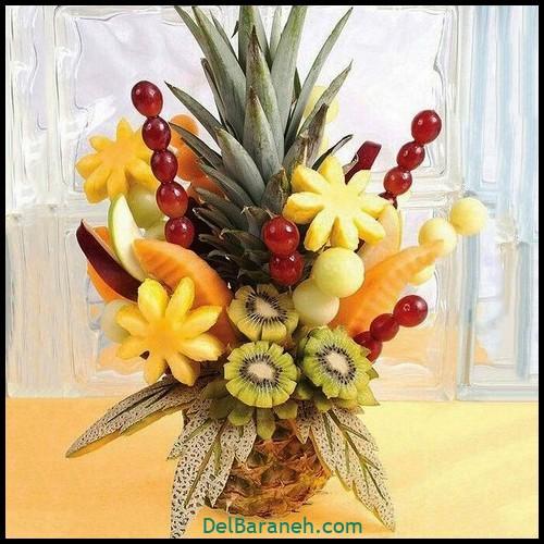 تزیین میوه شب چله (۱۲)