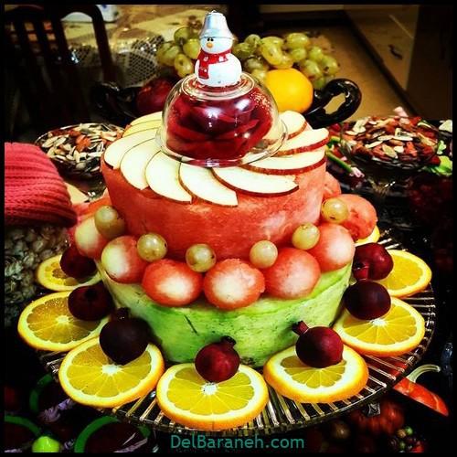 تزیین میوه شب چله (۱۴)